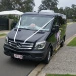 Mercedes-Black-Sprinter-Wedding-Side