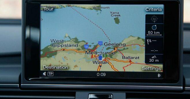 Audi A6 - GPS