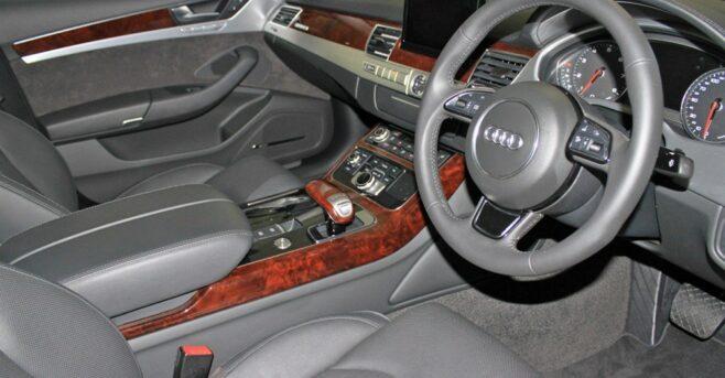 Audi A8 - Front Interior