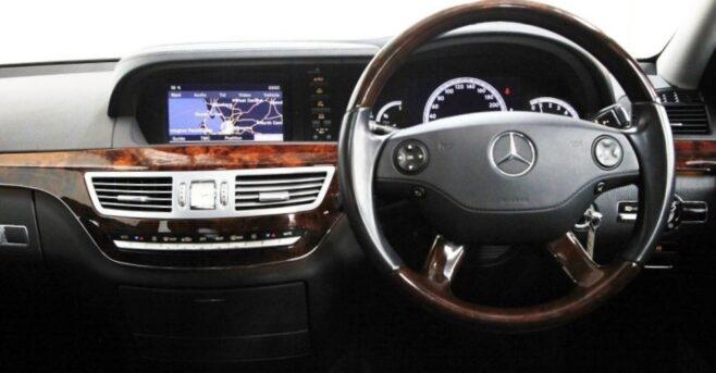 Mercedes S Class - Driver Seat