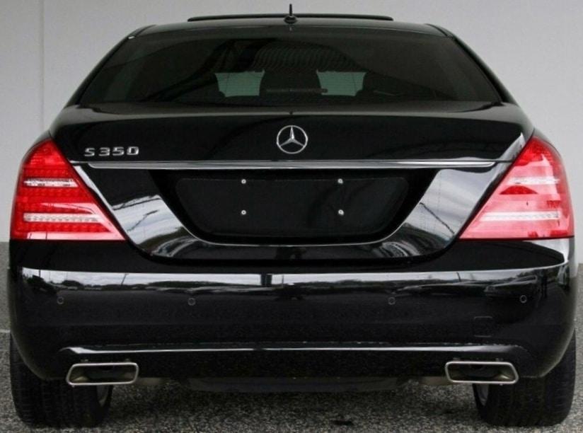 Mercedes S Class Back