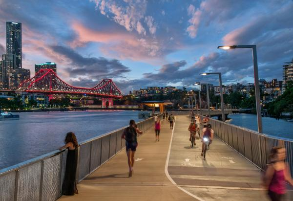 New Farm River Walk - Brisbane Executive Transfers