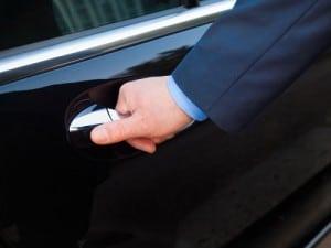 VIP-driver-opening-door