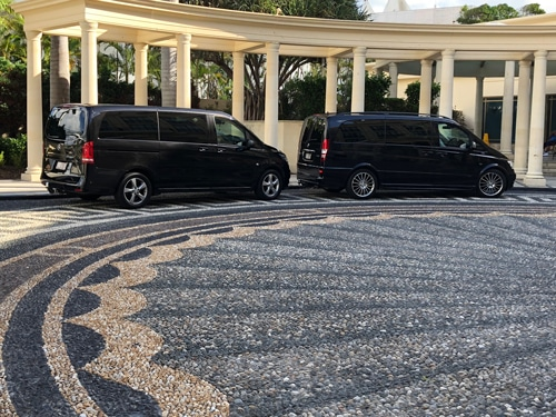 Two-Black-Mercedes-Executive-Vans