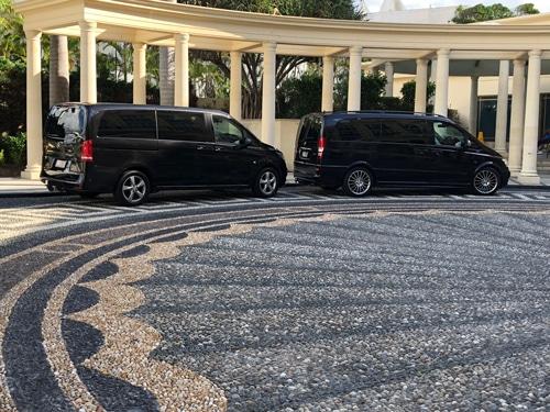 Two-Black-Mercedes-Executive-Vans